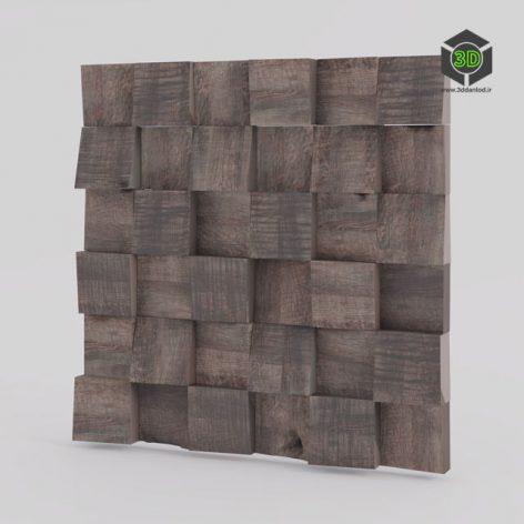 Wood wall panels 06 196 (3ddanlod.ir)
