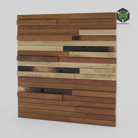 Wood wall panels 13 202 (3ddanlod.ir)