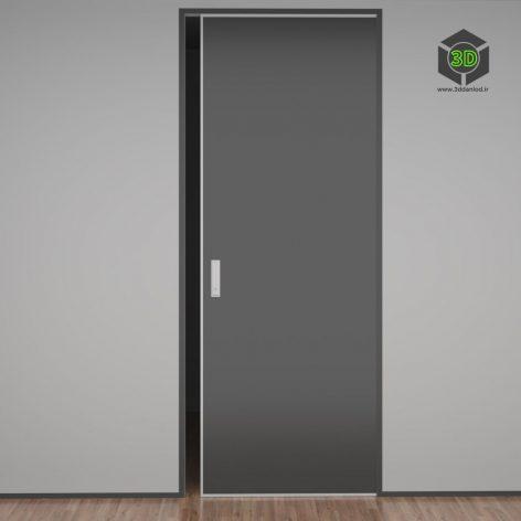 Дверь раздвижная 093 (3ddanlod.ir)