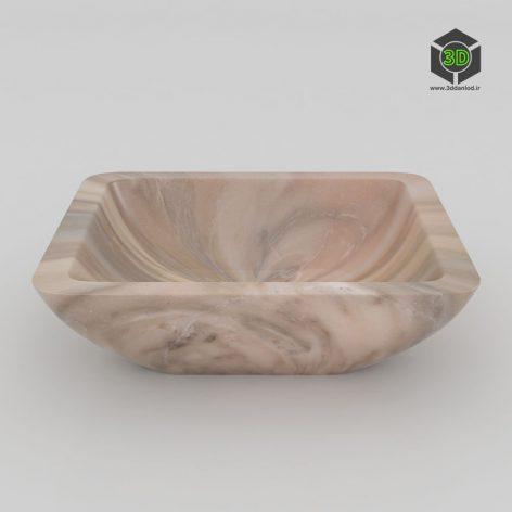 Раковина мраморная РМ08 150 (3ddanlod.ir)