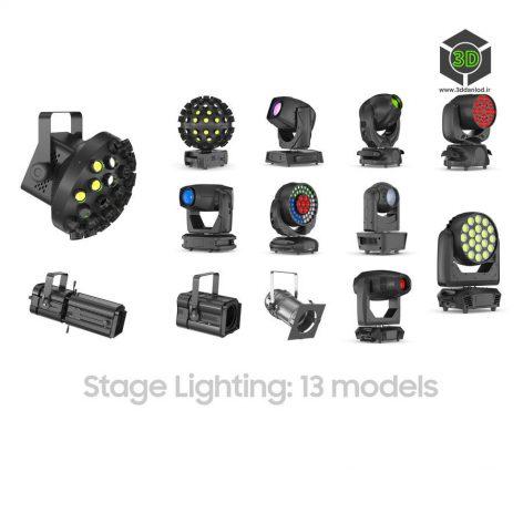 63 Studio Stage Theater Cinema Lighting Collection(3ddanlod.ir)