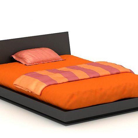 دانلود آبجکت تخت خواب مدرن 803