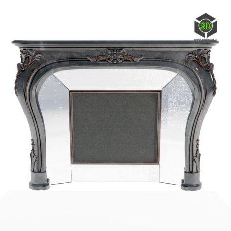 Fireplace Roberto Giovannini(3ddanlod.ir) 033