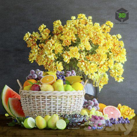 Fruit Basket(3ddanlod.ir) 336
