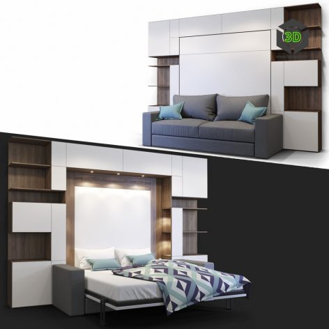 Furniture Transformer Olissys DarkSide(3ddanlod.ir) 226