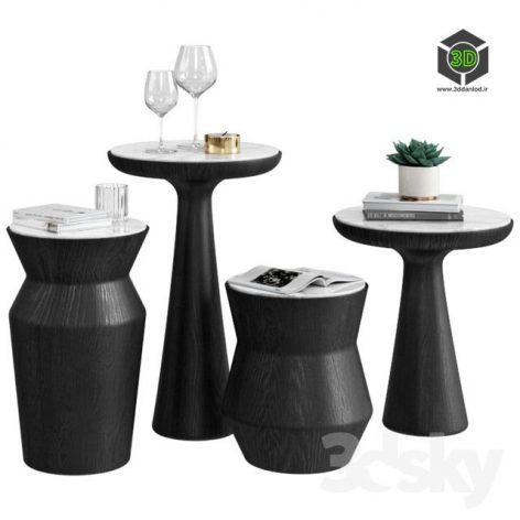 Gallotti Radice Coffee Table Fante Dama(3ddanlod.ir) 633