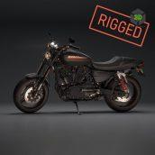 Harley Davidson XR1200x Fully Rigged 3D model3ddanlod.ir  172x172 - دانلود آبجکت موتور 698