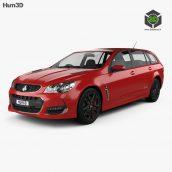Holden Commodore SS V Redline Sportwagon 2015 3D Model 23ddanlod.ir  172x172 - دانلود آبجکت ماشین 699
