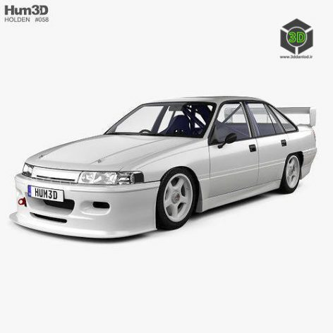 Holden Commodore Touring Car with HQ interior 1993 (max, fbx, obj) (3ddanlod.ir)
