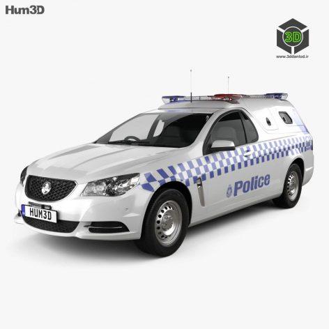 Holden Commodore ute Evoke Police 2013(3ddanlod.ir)