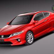 Honda Accord Coupe 2013(3ddanlod.ir)
