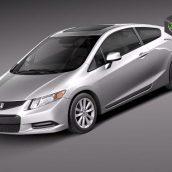 Honda Civic 5-door 2012 3D Model(3ddanlod.ir)