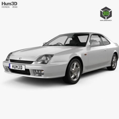 Honda Prelude BB5 1997 3d model (2)(3ddanlod.ir)