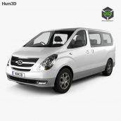 Hyundai Starex (iMax) 2010 3D model(3ddanlod.ir)