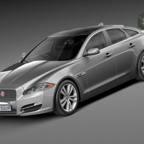 Jaguar XJ 2016 3d model (2)(3ddanlod.ir)