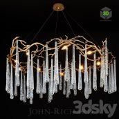 John Richard Brass and Glass Teardrop(3ddanlod.ir) 275