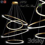 LED Swirl Four Rings(3ddanlod.ir) 1013