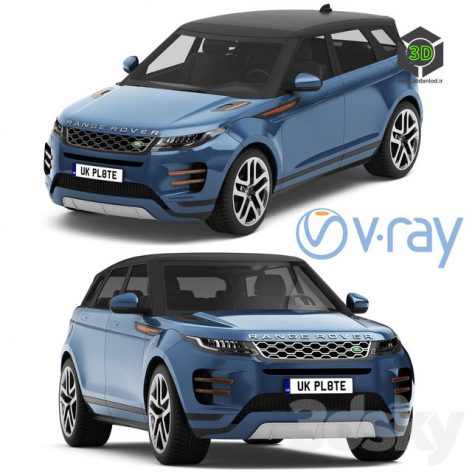 Land Rover Range Rover Evoque R Dynamic 2019(3ddanlod.ir) 1167