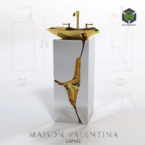 Lapiaz Washbasin From Maison Valentina(3ddanlod.ir) 218