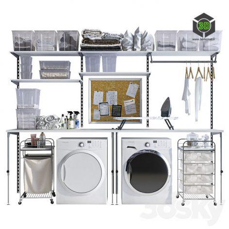 Laundry Decor 002(3ddanlod.ir) 1133