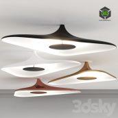 Luceplan Soleil Noir by Studio Odile Decq Ceiling Light(3ddanlod.ir) 138