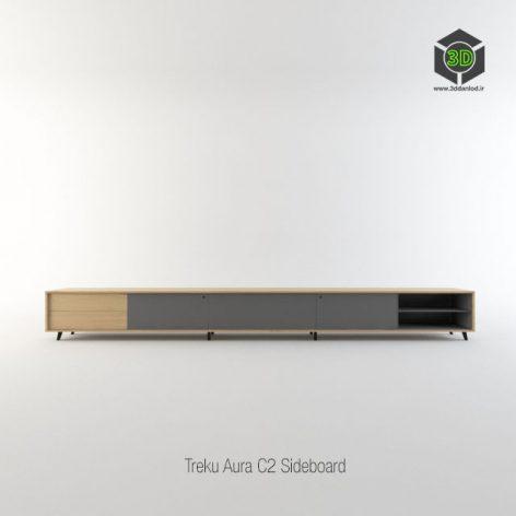 Treku Aura C2 Sideboard 207 (3ddanlod.ir)