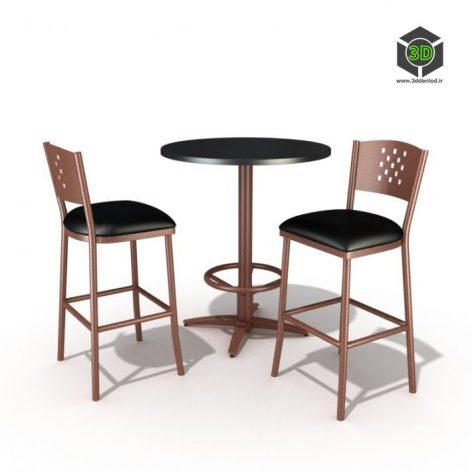 دانلود آبجکت میز صندلی 539