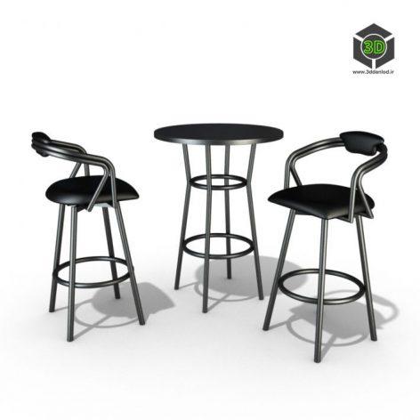دانلود آبجکت میز صندلی 540