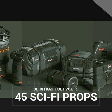 45 SciFi-Props 3D Models 002(3ddanlod.ir)