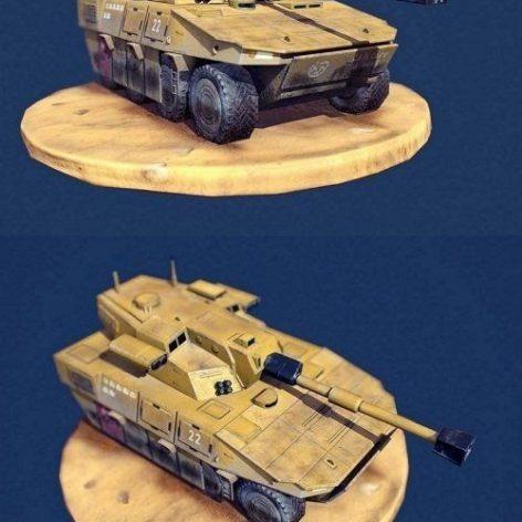 Desert Vulture – Simple Low Poly 3D Model (3ddanlod.ir)