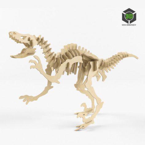 Dinosaurs Velociraptor 002 (3ddanlod.ir)