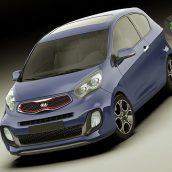 Kia Picanto Sport 2012 3door 3D model(3ddanlod.ir)