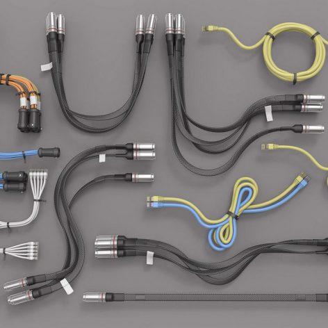 Kitbash Library - Cables, Hoses, Tubes 001(3ddanlod.ir)