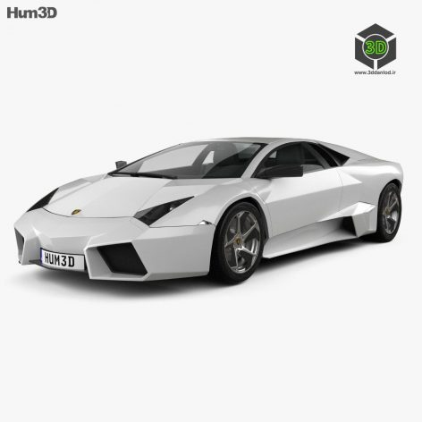 Lamborghini Reventon 2009 3D Model(3ddanlod.ir) (3)