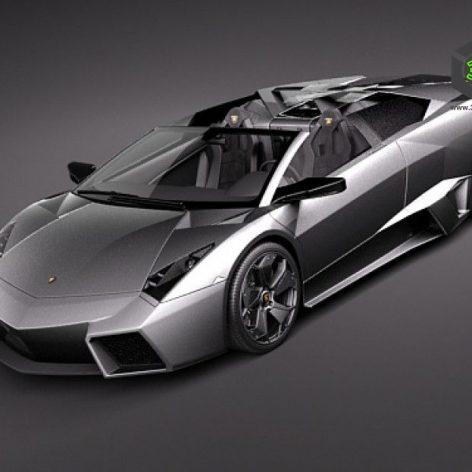 Lamborghini Reventon 3D Model(3ddanlod.ir)
