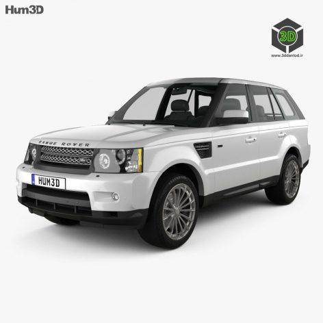 Land Rover Range Rover Sport 2009 3d Model (2)(3ddanlod.ir)