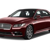Lincoln Continental 2017 3D Model(3ddanlod.ir)