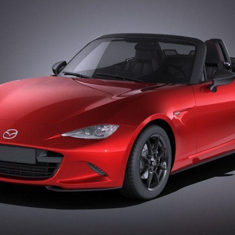 Mazda MX-5 2016 3d Model (2)(3ddanlod.ir)