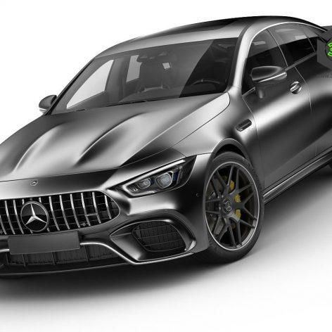 Mercedes AMG GT63S 2019 3D Model(3ddanlod.ir)
