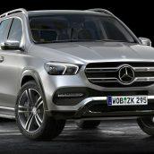 Mercedes Benz GLE 2020 3D Model(3ddanlod.ir)