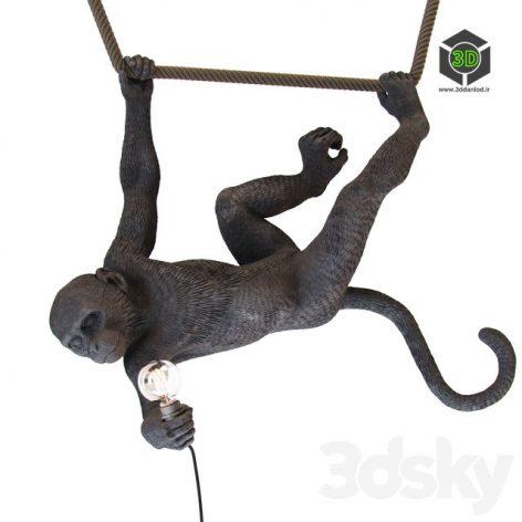 Monkey Lamp Swing(3ddanlod.ir) 1029