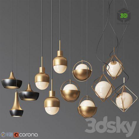 Pendant Light Collection 15(3ddanlod.ir) 014
