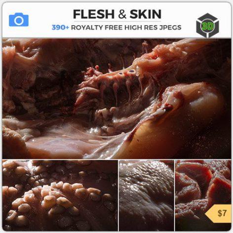 Photobash - Flesh Skin cover (3ddanlod.ir)