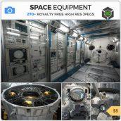 Photobash - Space Equipment cover (3ddanlod.ir)