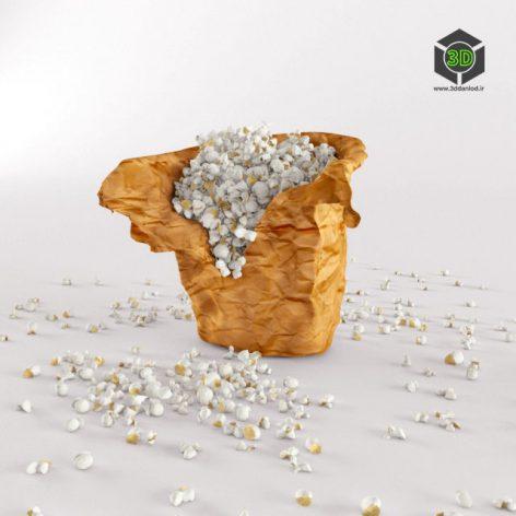 Popcorn in bag 115 (3ddanlod.ir)