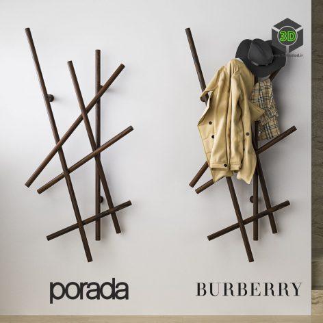 Porada Burberry Set in the Hallway(3ddanlod.ir) 1698