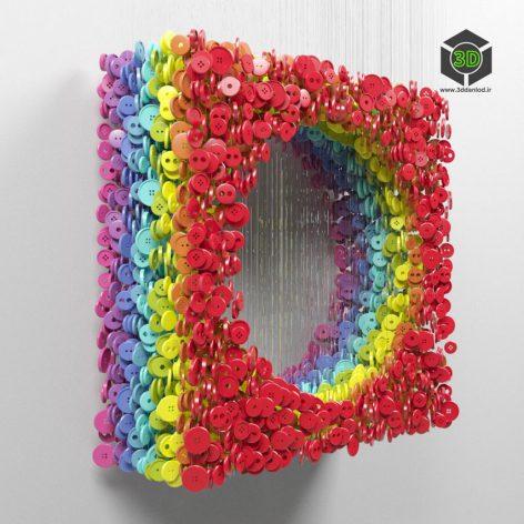 Rainbow buttons 169 (3ddanlod.ir)