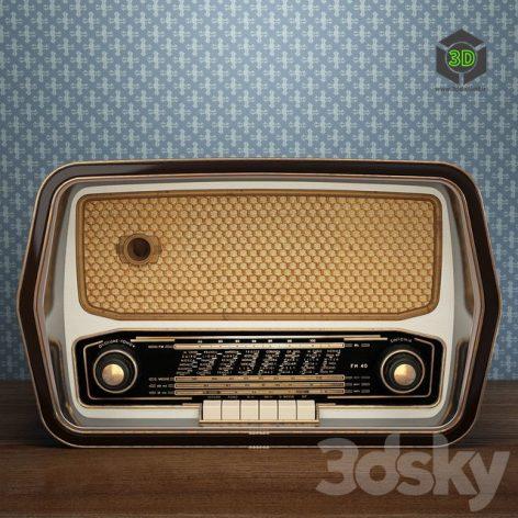 Retro Radio(3ddanlod.ir) 004