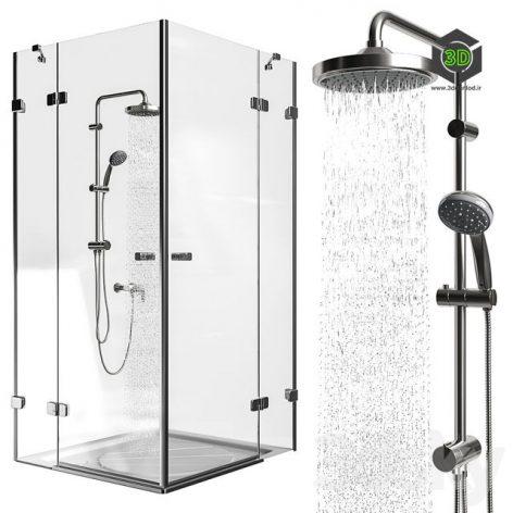 Shower Ravak Brilliant(3ddanlod.ir) 1181