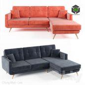 Sofa IKEA(3ddanlod.ir) 388